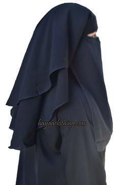 Hayaa Clothing - 3 Layers Fluttery Butterfly Black Saudi Niqab ,(http://www.hayaaclothing.com/3-layers-fluttery-butterfly-black-saudi-niqab/)