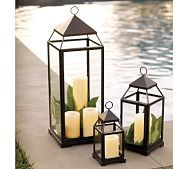 Pottery Barn lanterns onn sale with free shipping