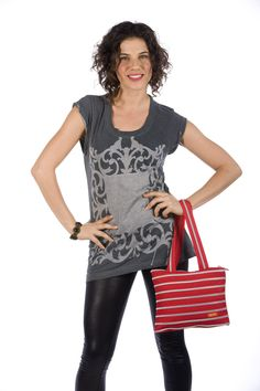 Sassy and fun! ZIPIT tote make the perfect catch all purse.