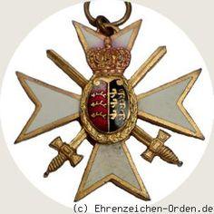 Weimar Republic - Kyffhäuserbund. Württembergisches war memorials (Cross) Donated: Würtemberger warriors covenant ca.1920 Awarded: 1920 - 1933