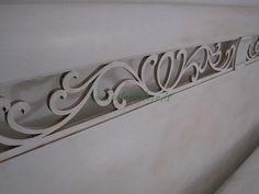 LETTO PROVENZALE FRANCESE - letto bianco shabby stile provenzale