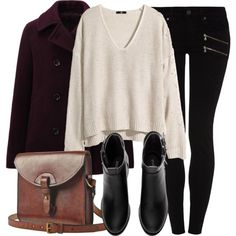 A fashion look from February 2015 featuring H&M sweaters, Uniqlo coats y Paige Denim jeans. Browse and shop related looks.