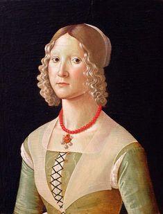 Portrait of Giovane Donna Domenico Ghirlandaio
