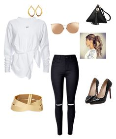 """""""Untitled #6"""" by aieasham on Polyvore featuring WithChic, Linda Farrow and Tom Ford"""