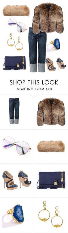 """Fur R Us"" by stylistinme ❤ liked on Polyvore featuring M.i.h Jeans, Adrienne Landau, Joules, GF Ferré, Tom Ford and Carrera y Carrera"