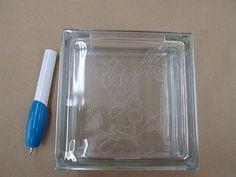 Glass Block Craft Ideas   Crankin' Out Crafts Episode 17: Engraved Block