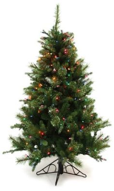 Good Tidings 96283 Tree Slim PE Nordmann Fir Blue 250 Multi 484 Tips 33Inch Diameter 412Foot >>> Want additional info? Click on the image.