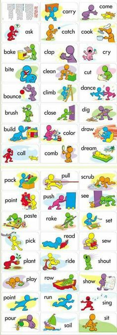 Verb vocabs