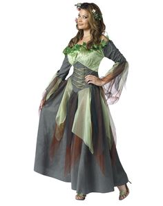 mother nature costume, the woodland fairy -esque take on it