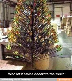 Hunger games christmas tree