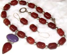 More beautiful work from Simply the Best team on Etsy Short Necklace Gemstone Necklace with Carnelian and by AdrianBee, $69.99
