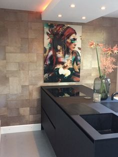 Pure luxury on your wall with this stunning wallpaper Indomptee APPALOOSA by Elitis France. Interior Design Living Room Modern, House Design, House Styles, Decor, Living Room Loft, Interior Design, House Interior, Interior, Dream Kitchens Design