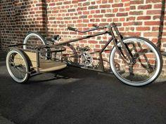 Bicycle Sidecar, Power Bike, Retro Bicycle, Cargo Bike, 3rd Wheel, Bike Rider, Mode Of Transport, Kustom, Tricycle
