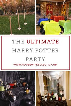 When my daughter asked for a Harry Potter party, I may have freaked out. I have thrown her Angry Bird parties, a Guardians of the Galaxy party and she finally asked me for a party that I was passionate about when I had the time and energy to devote to it. It got out of …