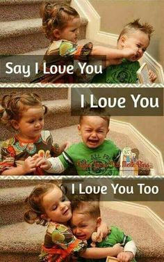 same here I do love u from my soul from my heart but qismat mai pta nai kia likha hai. pata nai but plzzz Sweet Sister Quotes, Brother Sister Love Quotes, Brother And Sister Relationship, Cute Baby Quotes, Sister Quotes Funny, Brother And Sister Love, Funny Attitude Quotes, Cute Funny Quotes, Some Funny Jokes