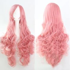Womens Lady Long Curly Wavy Hair Full Wigs Party Costume Wig Fashion Cosplay Wig | eBay