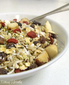 Homemade Raw Muesli Recipe - Eating Vibrantly