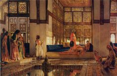 John frederick lewis-reception1873 - Seraglio - Wikipedia, the free encyclopedia