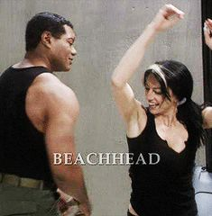 Vala and Teal'c. I loved the way they interacted. #stargate