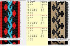 21 tarjetas, 3 / 2 colores, repite cada 8 movimientos // sed_708 diseñado en GTT༺❁