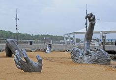 "J Seward Johnson's ""The Awakening"""