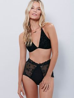 Intimately Phases Of The Moon Velvet Bra at Free People Clothing Boutique