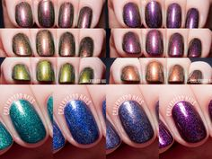 Glam Polish Welcome to Storybrooke Collection via @chalkboardnails