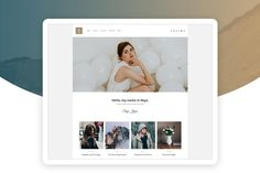 Web Ui Design, Website Template, Designs To Draw, Presentation, Templates, Modern, Blog, Elegant, Instagram