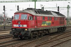 Ludmilla Diesel Locomotive, Train, Vehicles, Display Stands, Europe, Trains, Hungary, Car, Strollers