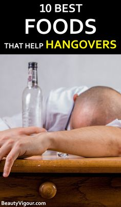 Foods that help hangover is a combination of foods that accelerate this process, causing fewer effects of excess alcohol in the body. Hangover Tips, Hangover Food, Foods That Help Hangovers, Allrecipes, Home Remedies, Happy Life, Healthy Life, Helpful Hints, Good Food