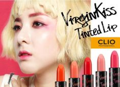 CLIO VirginKiss Tinted Lip - 5 Colors - Lipstick/Lip make up
