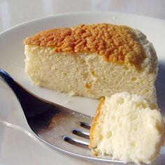 –Japanese cheesecake. Yum!