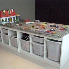 Trofast Playroom Play Areas