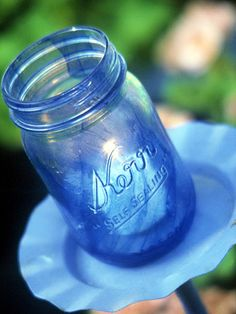 Another way of tinting glass jars