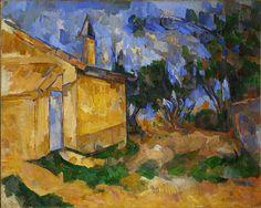 CEZANNE,1906 - Le Cabanon de Jourdan : « […] en nous ne s'est pas endormie pour toujours la vibration des sensations répercutées de ce bon soleil de Provence, nos vieux souvenirs de jeunesse, de ces horizons, de ces paysages, de ces lignes inouïes qui en nous laissent tant d'impressions profondes. » (CEZANNE à Henri Gasquet, Paris, 3 juin 1899, Correspondance)