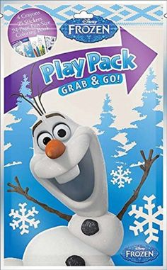 Frozen Grab And Go Play Pack Party Favors