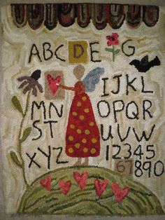 Love this! Rug hooking is something I'd like to try someday.