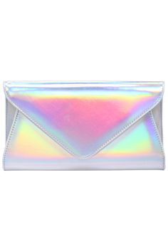 PinaBoo ROMWE Laser Envelope Bag Hardwood Floor Installation Tips Most of us th Envelope, Clear Bags, Latest Street Fashion, Holographic, Hologram, Clutch Wallet, Types Of Fashion Styles, Romwe, Color Mixing