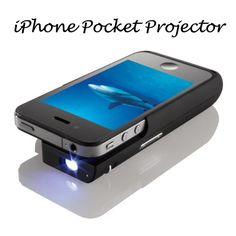 The iPhone Pocket Projector can instantly project clear & bright images or videos wherever you are. Great for business trips & keeping the kids entertained. Check it out: www.coolgadge.com/iphone-pocket-projector.html