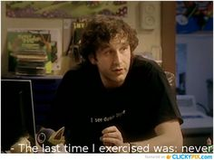 I think if Roy were real, we could be the best couple ever British Humor, British Comedy, It Crowd Quotes, Funny Cute, Hilarious, Karen Memes, Little Britain, The Mighty Boosh, Sense Of Life