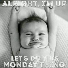 Happy Monday Quotes, Monday Humor Quotes, Tuesday Humor, Monday Motivation Quotes, Morning Motivation, Work Quotes, Workout Motivation, Monday Morning Humor, Good Monday Morning