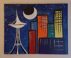 Hey, I found this really awesome Etsy listing at https://www.etsy.com/listing/255018064/blue-seattle-katcityart
