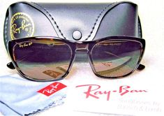 Ray-Ban USA Vintage *NOS B&L W2683 Predator 1 Polarized Wayfarer *NEW Sunglasses