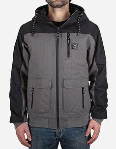 iriedaily - Dock36 Worker Jacket charcoal