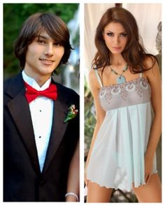 Ryan's school wouldn't let him go to prom as a girl with his boyfriend Liam. But after prom, Rebecca and Liam had so much fun. Transgender Transformation, Male To Female Transformation, Transgender People, Transgender Girls, Male To Female Transgender, Male To Female Transition, Mtf Transition, Male To Female Hormones, Mtf Hrt