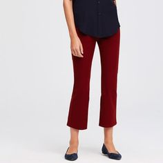 """Ann Taylor cropped stretch leggings Brad new (with tag) stretchy cropped leggings with elastic waistband. The fist picture shows the color I'm selling. 23"""" inseam. Ann Taylor Pants Ankle & Cropped"""