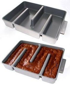 Bakers Edge 9x12x2in Nonstick Brownie Edge Pan Silver * Be sure to check out this awesome product affiliate link Amazon.com