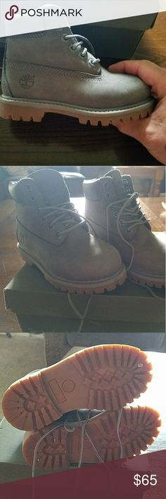 Timberland Boots Toddler Worn once bought in February. His mom didnt like them. My loss is your gain. Timberland Shoes Boots