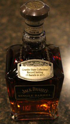 Jack Daniel's Single Barrel Select Granite State Collection