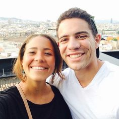 Olivia and Sean in Barcelona